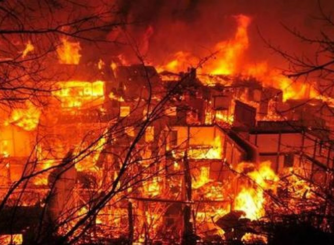 nằm mơ thấy lửa, cháy nhà là điềm báo gì