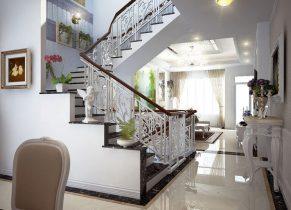Thiết kế cầu thang hợp phong thủy mang may mắn tài lộc vào nhà