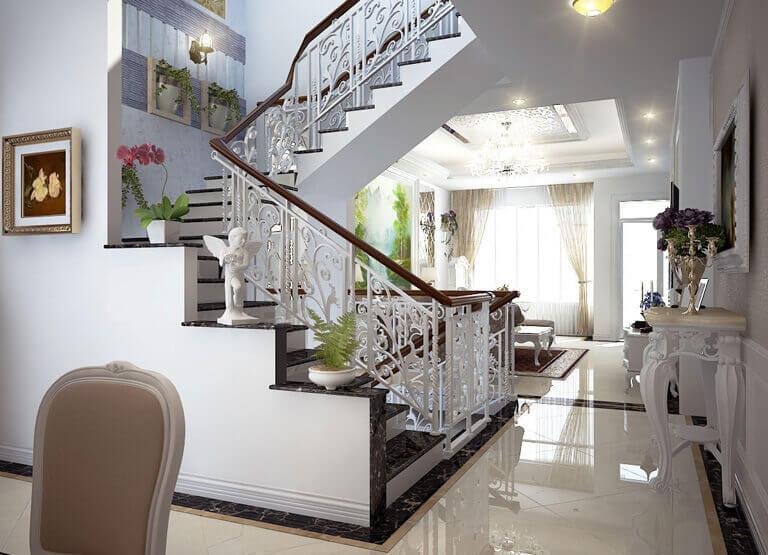 Phong thủy cầu thang trong thiết kế nhà ở