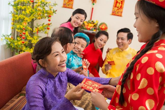 Phong tục lì xì ngày tết Việt Nam