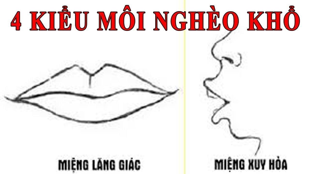 Xem tướng miệng phụ nữ nghèo khó