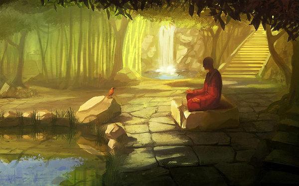 Bình thản với đời, thuận tự nhiên là một loại phúc