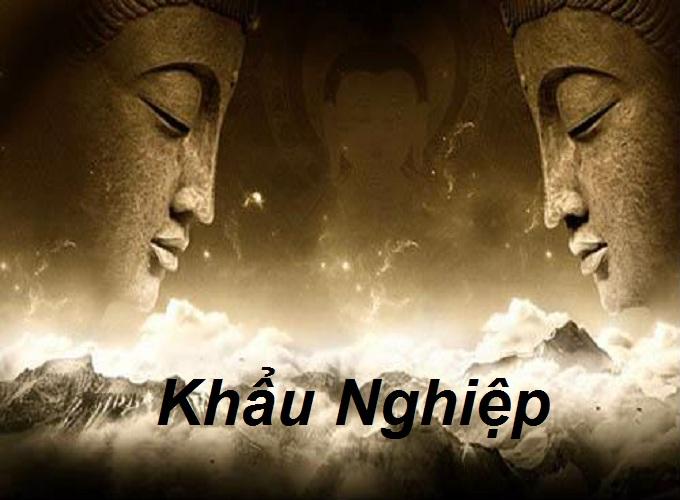 Khẩu nghiệp và bài học từ Đức Phật