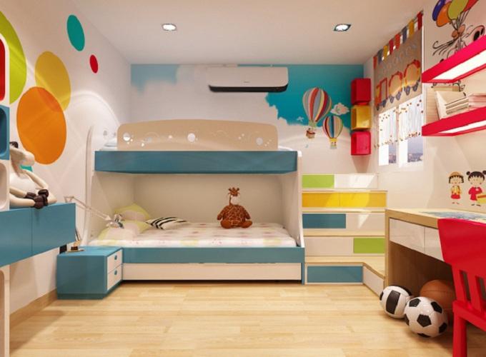Phong thủy giường ngủ khiến trẻ dễ ốm đau