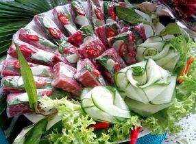 Các món ăn ngày tết theo phong tục Miền Trung