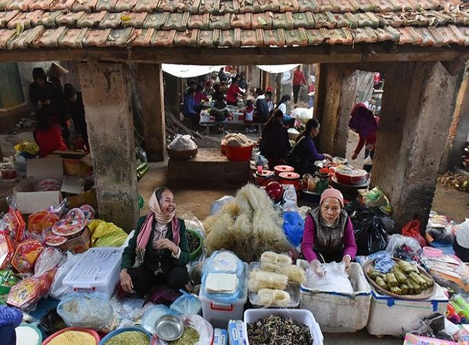 Chợ tết xưa và nay