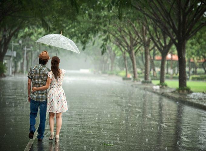 Mơ thấy trời mưa là điềm báo gì