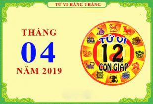 Tử vi tháng 4/2019 của 12 con giáp, Thìn ổn định, Tỵ thăng tiến